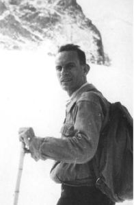 Rasetti, hiking in the Swiss Alps. He was an avid collector of Cambrian tribolites and wild flowers.