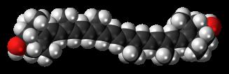Zeaxanthin_molecule_spacefill