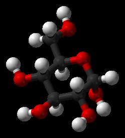 Alpha-D-glucose-3D-balls